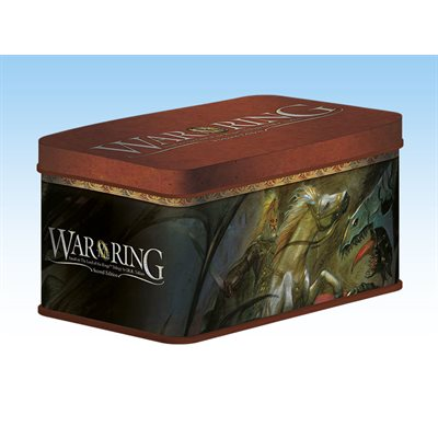 War of the Ring Second Edition: Card Box and Sleeves (Theoden Version)