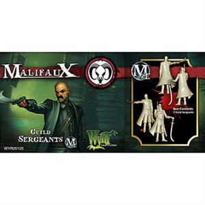 Malifaux 2nd Ed: Guild: Sergeant (Updated to M3E)