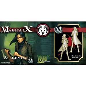 Malifaux 2nd Ed: Guild: Allison Dade (Updated to M3E)