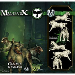 Malifaux 2nd Ed: Resurrectionists: Canine Remains (3) (Updated to M3E)