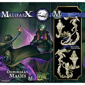 Malifaux 2nd Ed: Arcanists: Oxfordian Mages (Updated to M3E)