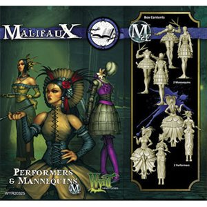 Malifaux 2nd Ed: Outcasts: Performers & Mannequins (Updated to M3E)