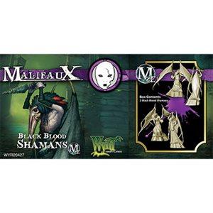 Malifaux 2nd Ed: Neverborn: Black Blood Shamans (2) (Updated to M3E)