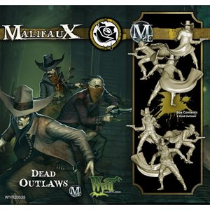 Malifaux 2nd Ed: Outcasts: Dead Outlaws (Updated to M3E)