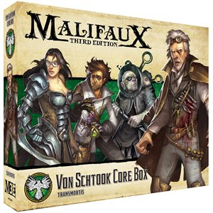 Malifaux 3E: Resurrectionists: Von Schtook Core Box