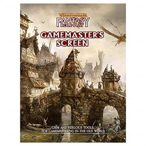 Warhammer Fantasy Roleplaying 4th Edition Gamemasters Screen