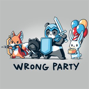 Wrong Party (No Amazon Sales) ^ JUL 2021