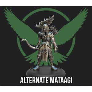 Guild Ball: Falconers Guild - Promo Figure - Limited Edition Mataagi