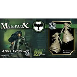 Malifaux 2nd Ed: Resurrectionists: Anna Lovelace (Updated to M3E)