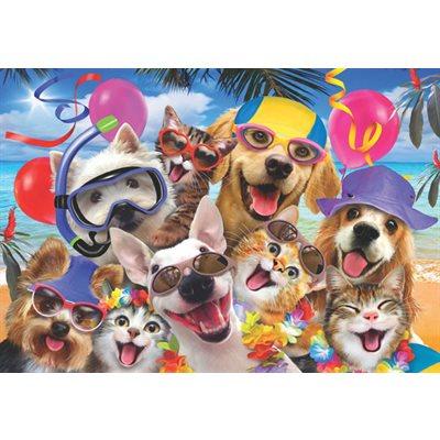 Puzzle: 260 Beach Party Selfie