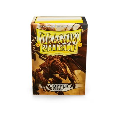 Sleeves: Dragon Shield Classic Copper(100)