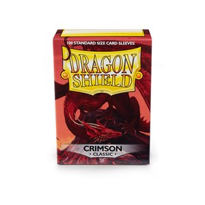 Sleeves: Dragon Shield Classic Crimson(100)