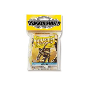 Sleeves: Dragon Shield Japanese Gold (50)