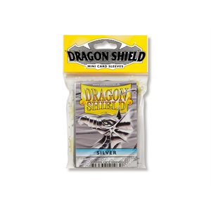 Sleeves: Dragon Shield Japanese Silver (50)