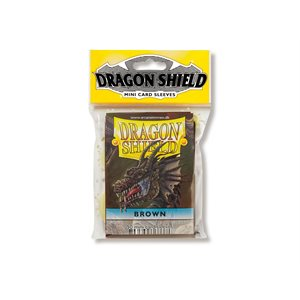 Sleeves: Dragon Shield Japanese Brown (50)