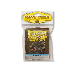 Sleeves: Dragon Shield Brown (50)
