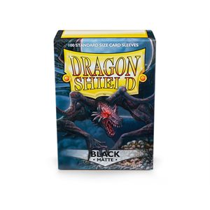Sleeves: Dragon Shield Matte Black (100)
