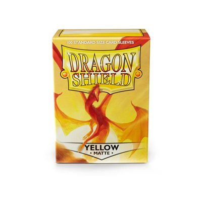 Sleeves: Dragon Shield Matte Yellow(100)