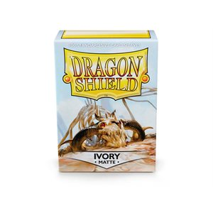 Sleeves: Dragon Shield Matte Ivory (100)