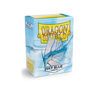 Sleeves: Dragon Shield Matte Sky Blue (100)
