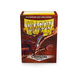 Sleeves: Dragon Shield Matte Crimson(100)
