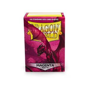 Sleeves: Dragon Shield Matte Magenta (100)