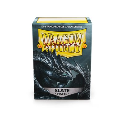 Sleeves: Dragon Shield Matte Slate (100)