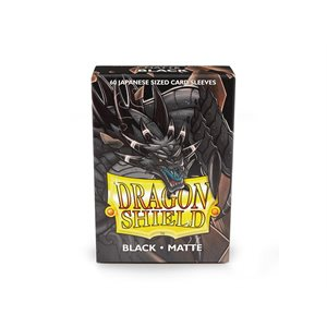 Sleeves: Dragon Shield Matte Japanese Black (60)