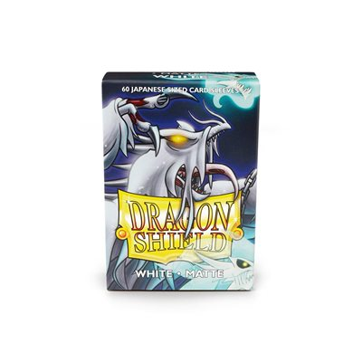 Sleeves: Dragon Shield Matte Japanese White (60)
