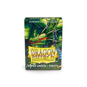 Sleeves: Dragon Shield Matte Japanese Apple Green (60)