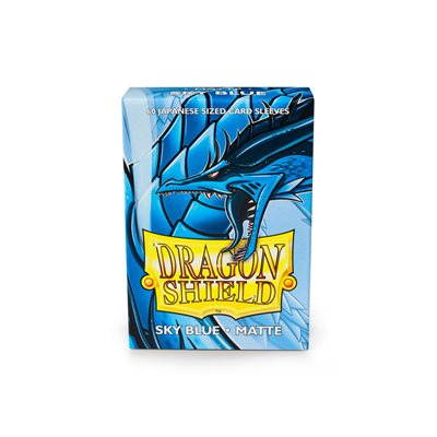 Sleeves: Dragon Shield Matte Japanese Sky Blue (60)