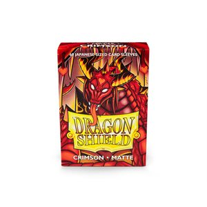 Sleeves: Dragon Shield Matte Japanese Crimson (60)