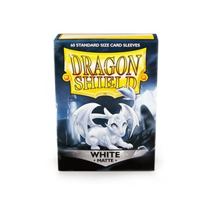 Sleeves: Dragon Shield Matte White (60)