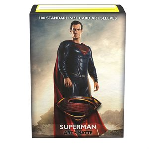 Sleeves: Dragon Shield Limited Edition Matte Art: Justice League Superman (100)