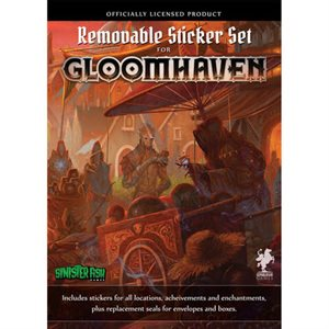 Gloomhaven: Jaws of the Lion Removable Sticker Set & Map ^ MAY 2021