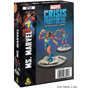 Marvel Crisis Protocol: Ms. Marvel Character Pack ^ JAN 14 2022