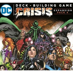 DC Comics DBG: Crisis - Expansion Pack 4
