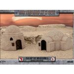 Battlefield in a Box: Galactic Warzones - Desert Buildings