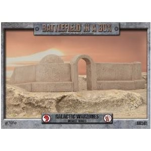 Battlefield in a Box: Galactic Warzones - Desert Walls