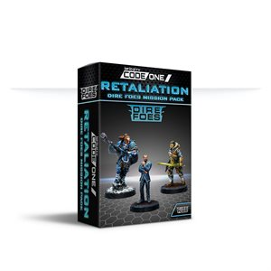 Infinity: Dire Foes Mission Pack Alpha: Retaliation Convention Exclusive Pre-release