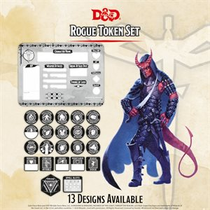 Dungeons & Dragons: Rogue Token Set (Player Board & 22 tokens) ^ Q4 2020
