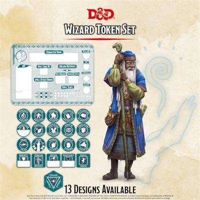 Dungeons & Dragons: Wizard Token Set (Player Board & 22 tokens) ^ Q4 2020