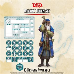 Dungeons & Dragons: Wizard Token Set (Player Board & 22 tokens) ^ Q4 2020