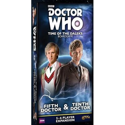 Doctor Who Time Of The Daleks: 5-6 Player Exp: Fifth Doctor & Tenth Doctor