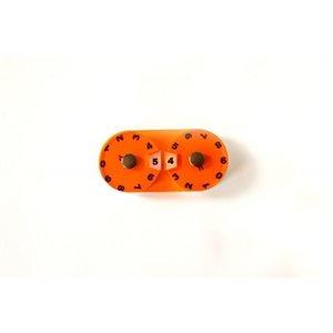 Tokens: Double Dial - Orange