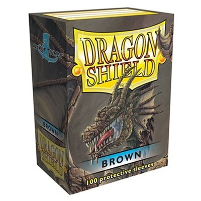 Sleeves: Dragon Shield Classic Brown(100)