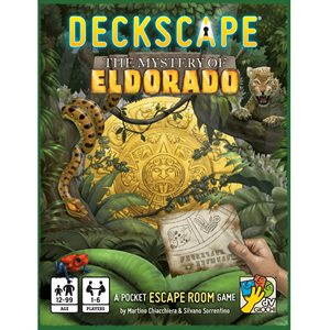 Deckscape: Mystery of Eldorado (No Amazon Sales)