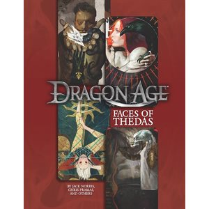 Dragon Age: Faces of Thedas (BOOK)