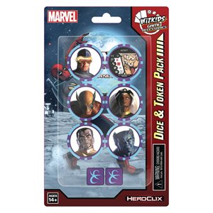 Marvel HeroClix: X-Men Rise and Fall Dice and Token Pack ^ JUN 2021