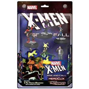 Marvel HeroClix: X-Men Rise and Fall Fast Forces ^ JUN 2021